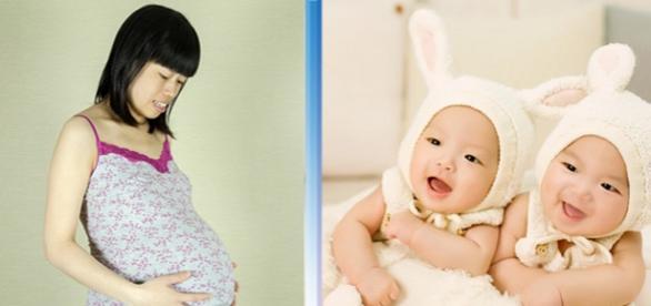 O femeie a dat naștere la gemeni cu tați diferiți