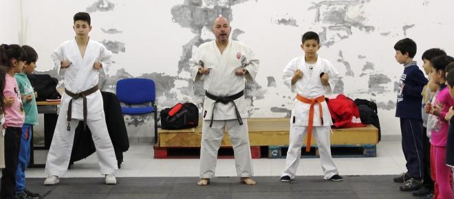 Bushido AK Esposende em mais uma aula de Karaté