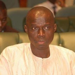 Gambia's FInance Minister Abdou Colley / Sulayman Gassama, State House