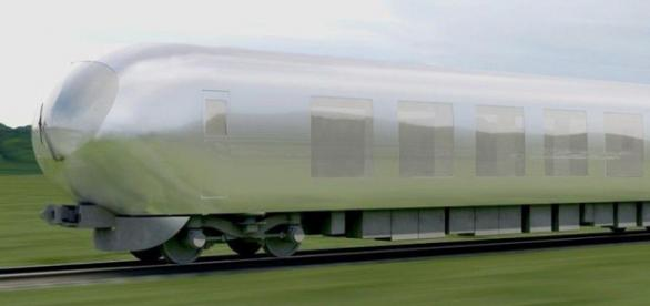 Comboio invisível foi desenhado pela arquiteta japonesa Kazuyo Sejima.