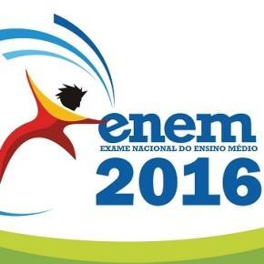 Provas do Enem 2016 serão aplicadas nos dias 5 e 6 novembro