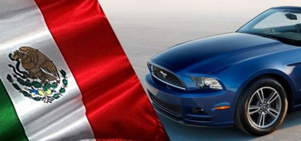 Foto Mustang de Ford.mx para fines ilustrativos