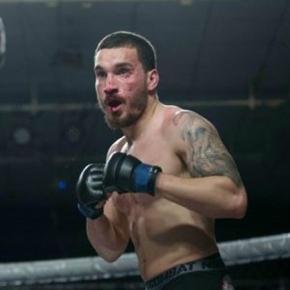 """João """"Rafeiro"""" Carvalho, lutador de MMA"""