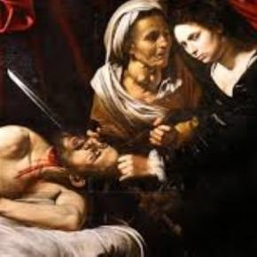 """Judith Beheading Holofernes"" presumed a Caravaggio Creative Commons"