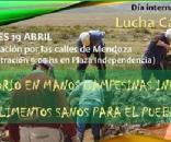 Martes 19 de abril, día internacional de la lucha campesina