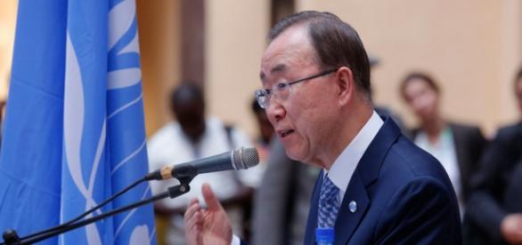 Secretary-General Ban Ki-moon / UN Photo, Evan Schneider