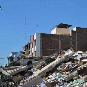 El epicentro del terremoto en Ecuador es en Manabí