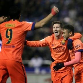 O Barcelona procura festejar novamente uma vitória