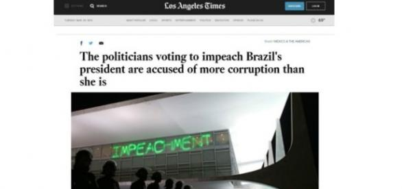 Os políticos que votam pelo impeachment são acusados de mais corrupção que a presidente.