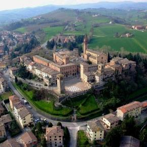 Castelvetro di Modena, land of Lambrusco Grasparossa