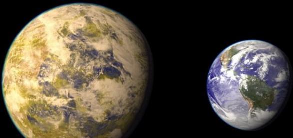 O planeta asemanatoare Pamantului descoperita