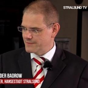 """Alexander Badrow bei seinem """"abgesprochenen"""" Interview"""