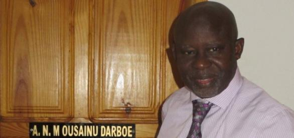 UDP Leader Ousainou Darboe / Photo via Annelies D'Hulster