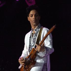 Prince on stage, photo credit: Flickr