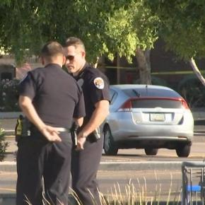 Poliţiştii fac cercetări la faţa locului