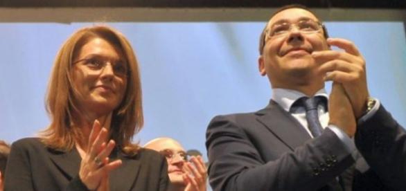 Alina Gorghiu și Vitor Ponta pe vremea când aplaudau împreună