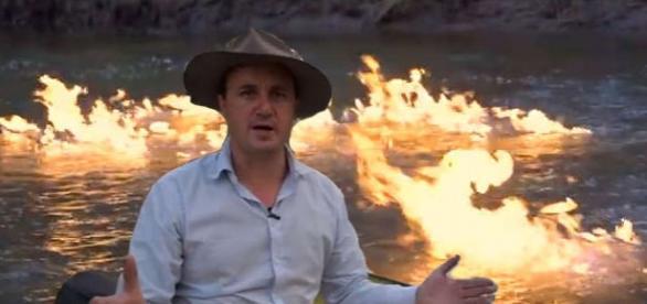 Parlamentarul australian Jeremy Buckingham a postat un video cu efectele dramatice ale fracturării hidraulice