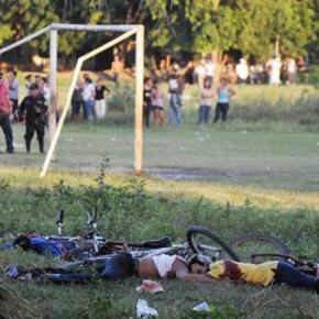 Image from AFP. Violence in Latin America