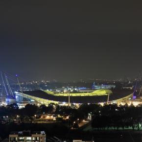 O Etihad é um dos palcos das meias-finais da Champions League