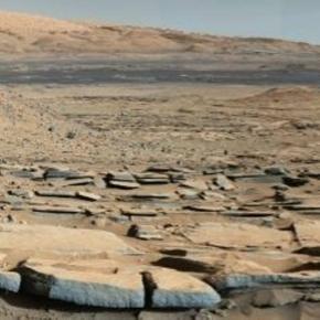 La planète Mars - photographie de la NASA, 09/10/2015