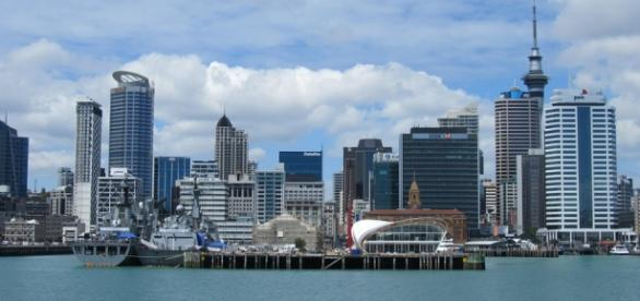 Auckland, cidade da Nova Zelândia