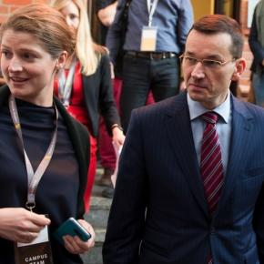 Czy Morawiecki wybrał juz rzeczniczkę swojego przyszłego rządu?