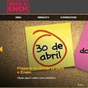 Hora do Enem disponibilizará primeiro simulado on-line