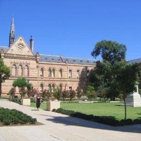 Universidade de Adelaide, na Austrália