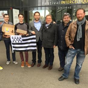 27/04/2016: Conférence de presse au siège du Festival Interceltique de Lorient