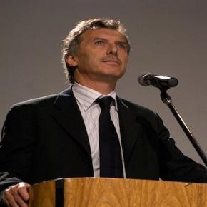 Mauricio Macri, current President of Argentina [photo via Wikipedia]