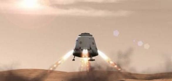 Red Dragon mission to Mars - photo: www.space.com