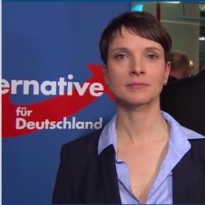 Frauke Petry im Interview mit dem ZDF