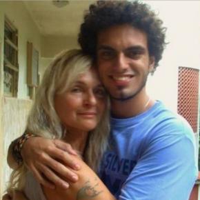 Brita Brazil, Rian e carta psicografada