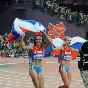 Maryia Savinova e Ekaterina Poistogova envolvidas em escândalo de doping.