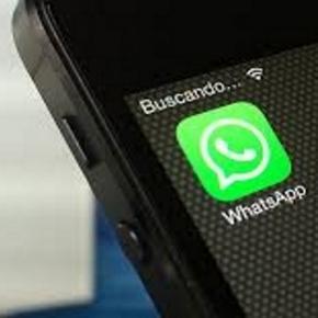 So sieht der Instant messaging Dienst auf dem Smartphone aus.