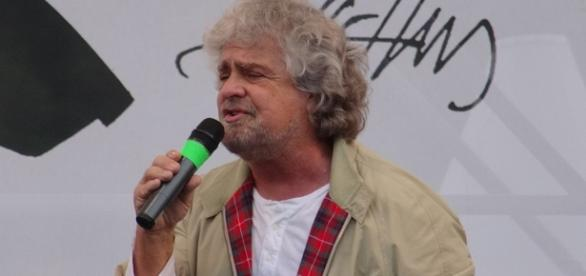 Beppe Grillo, fondatore del Movimento 5 stelle.