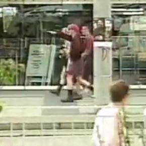 """Mit """"Sieg Heil""""-Rufen auf Ausländerjagd / Magdeburg 12.05.1994"""