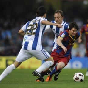 O Barça procura quebrar o enguiço frente à Real Sociedad