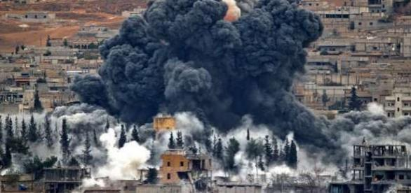 Atac aerian al SUA în Siria împotriva Al-Nusra - Foto AP via MSN News