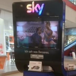 "Sky-Stand im Berliner Shoppingpalast ""Eastgate"""
