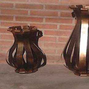 Vasos de metal. Foto: Instituto Mãos de Minas