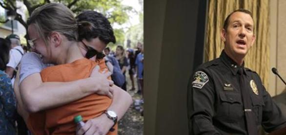 Crimă oribilă în campusul Universității din Texas - Sursă foto Associated Press