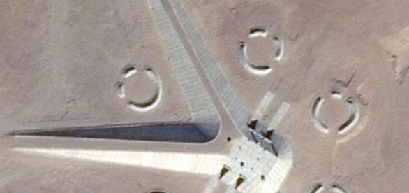Structura neobisnuita descoperita in Egipt