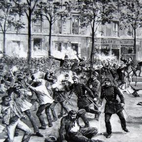 Manifestation et échauffourées le 1er mai 1891 à Clichy