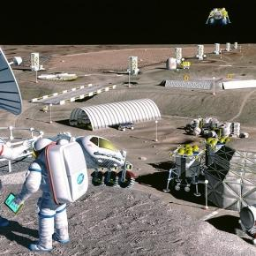 Usc professor wins nasa prize to make building materials from lunar soil - Homes built from recycled materials nasas outer space challenge ...