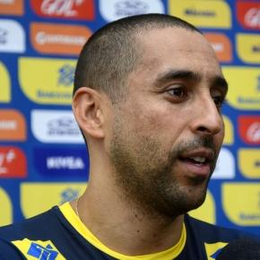 Serginho, jogador da seleção brasileira de vôlei.
