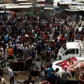 Aproape 100 de morți în urma atacurilor din Baghdad.