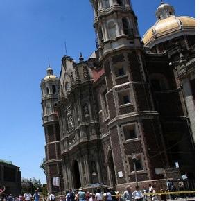 Catedrală din Mexico City care se înclină din cauza scufundării