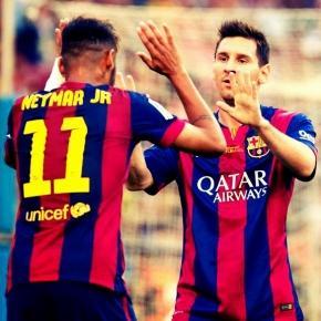 Messi e Neymar esperam ser campeões novamente