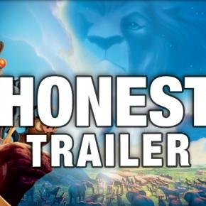 Screenshot of Lion King Honest Trailer (YouTube)